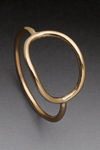 Gold O Ring by Peg Fetter (Gold Ring)