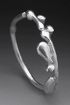 Sterling Twiggy Ring by Peg Fetter (Silver Ring)
