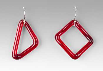 Single GEO Earrings