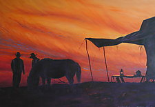 Day's End by Ritch Gaiti (Oil Painting)