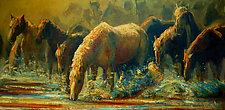 Splish Splash by Ritch Gaiti (Oil Painting)