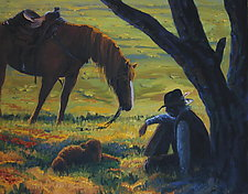 The Break by Ritch Gaiti (Oil Painting)