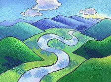 Hill and Dale by Wynn Yarrow (Giclee Print)