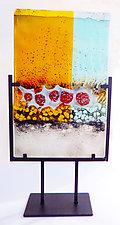 Skin by Sarinda Jones (Art Glass Sculpture)