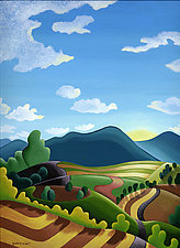 Long View by Wynn Yarrow (Giclee Print)