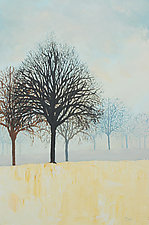 Winter Still by Ritch Gaiti (Oil Painting)