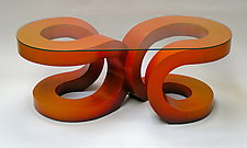 2U Coffee Table by John Wilbar (Wood Coffee Table)