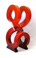 2URed by John Wilbar (Wood Sculpture)