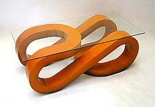 Wave Coffee Table by John Wilbar (Wood Coffee Table)