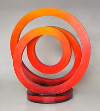 El Sol by John Wilbar (Wood Sculpture)