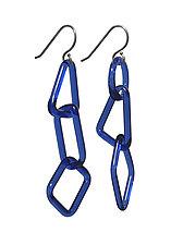 GEO Earrings by Marna Clark (Art Glass Earrings)