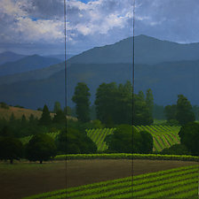 Napa Valley Spring by Kathy O'Leary (Oil Painting)