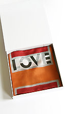 Love Scarf by Jeannet Leendertse  (Silk Scarf)