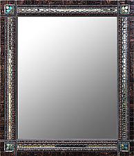 Mahogany Slate by Angie Heinrich (Mosaic Mirror)