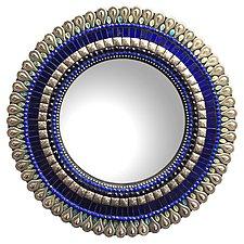 Gift Series: Cobalt Drop by Angie Heinrich (Mosaic Mirror)