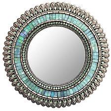 Gift Series: Seafoam Drop by Angie Heinrich (Mosaic Mirror)