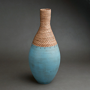 Bottle Vessel by Hannie Goldgewicht (Ceramic Vessel)