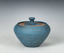 Blue Box by Hannie Goldgewicht (Ceramic Box)