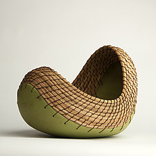 Swaying Boat by Hannie Goldgewicht (Ceramic Vessel)