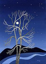 River Sentinel by Wynn Yarrow (Giclée Print)