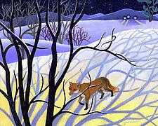Miles to Go: Winter by Wynn Yarrow (Giclee Print)