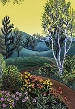 Wide Warm World by Wynn Yarrow (Giclee Print)