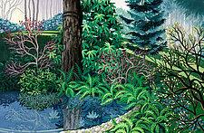 Soft Light Gentle Rain by Wynn Yarrow (Giclee Print)
