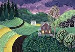 First Warm Night by Wynn Yarrow (Giclee Print)