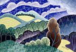 Enchanted Autumn by Wynn Yarrow (Giclee Print)