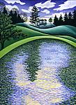 Finding Water by Wynn Yarrow (Giclee Print)
