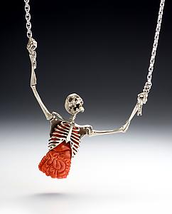 Kim Eric Lilot, exclusive jewellery designs. :  necklace skeleton jewelry
