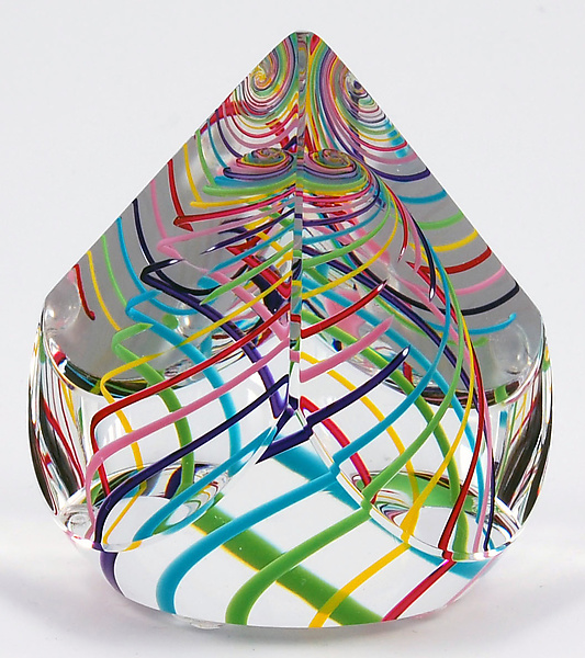 Candy Pyramid Paperweight