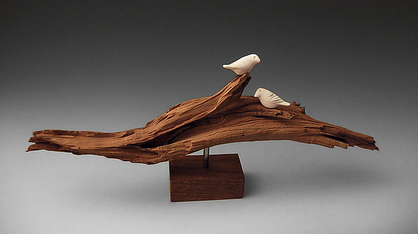 Ghost Wood Birds By Chris Stiles Ceramic Wood Sculpture Artful
