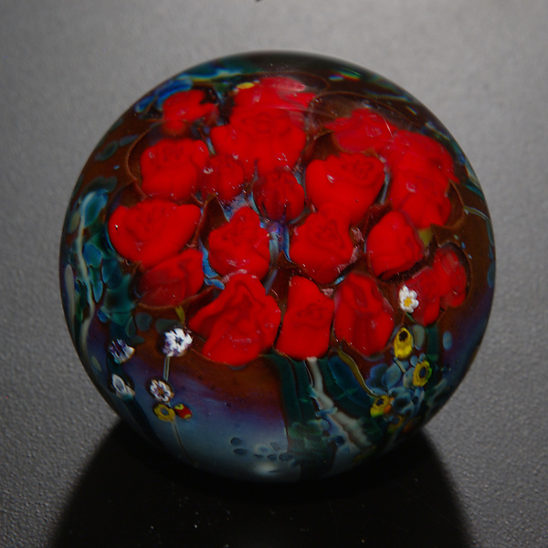 Roses Bouquet Paperweight