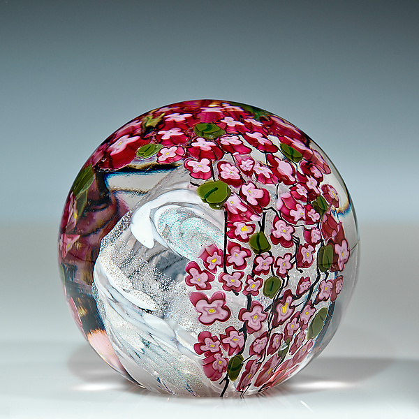 Cherry Blossom Paperweight