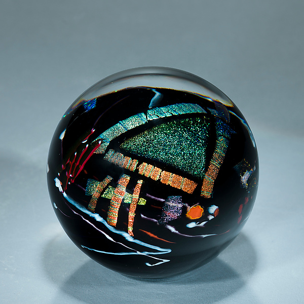 Black Graphic Evolution Series Paperweight