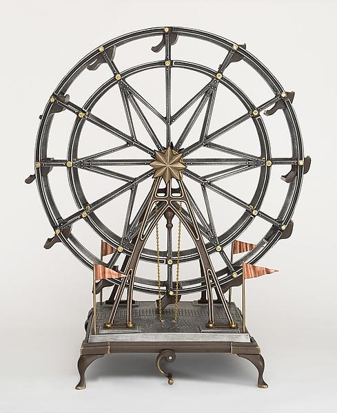 Ferris Wheel by Scott Nelles (Metal Sculpture)   Artful Home