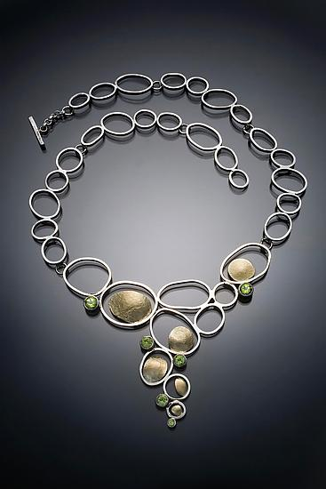 Open Pebbles Necklace