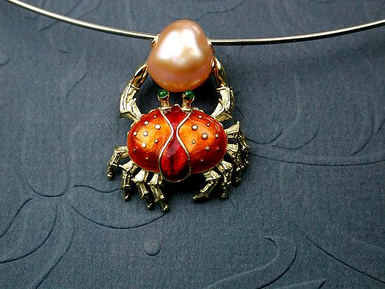 Enameled Crab