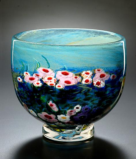Landscape Series Footed Bowl Opal