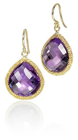 Amethyst Candy Drop Earrings