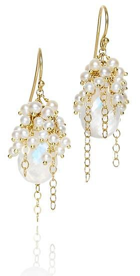 Small Whisper Cascade Earring