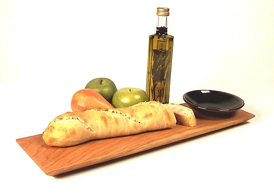 Shaker Breadboard & Dipping bowl