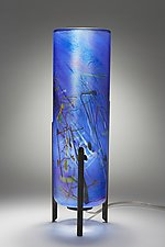 Miro Tricil Lamp by Joel and Candace  Bless (Art Glass Table Lamp)
