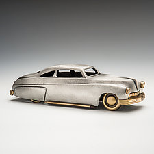 '49 Merc & Aero Stream Trailer by Scott Nelles (Metal Sculpture)