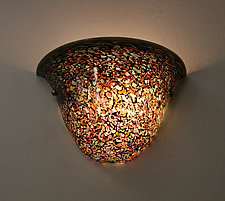 Gems Sconce by Joel and Candace  Bless (Art Glass Sconce)