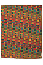 A Scant Aslant by Kent Williams (Fiber Wall Hanging)