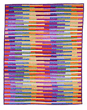 Torn Curtain by Kent Williams (Fiber Wall Hanging)