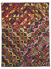 Gridlock 1 by Kent Williams (Fiber Wall Hanging)