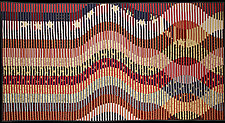 Stars and Stripes Forever by Kent Williams (Fiber Wall Hanging)